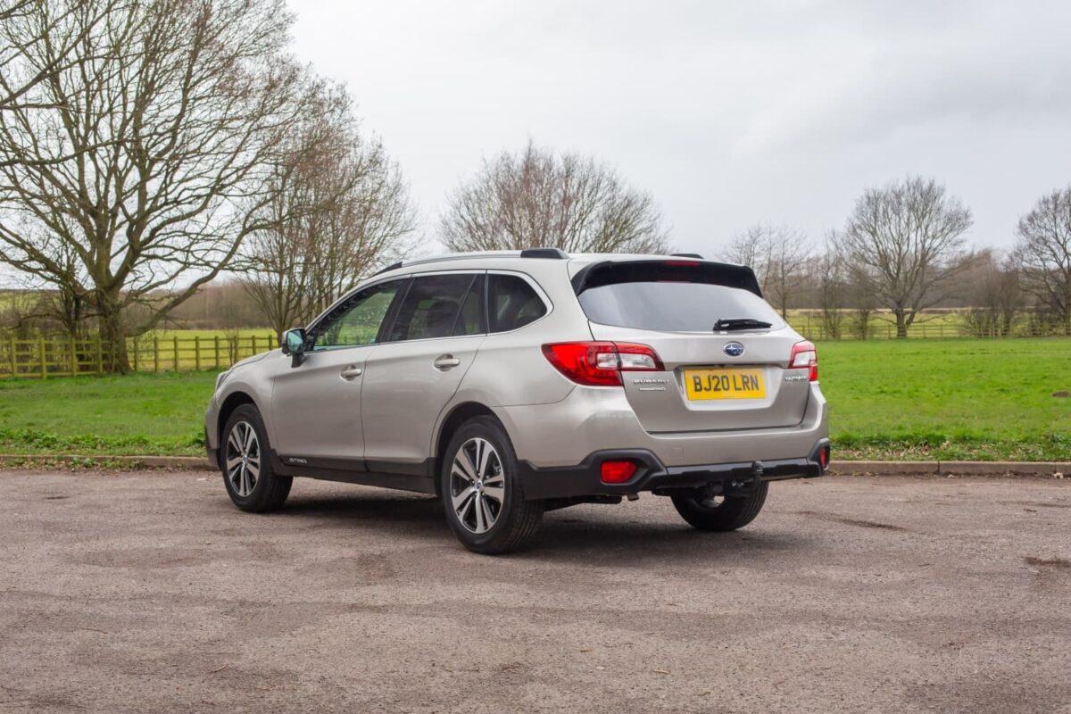 Subaru Outback (2018 onwards) - rear view
