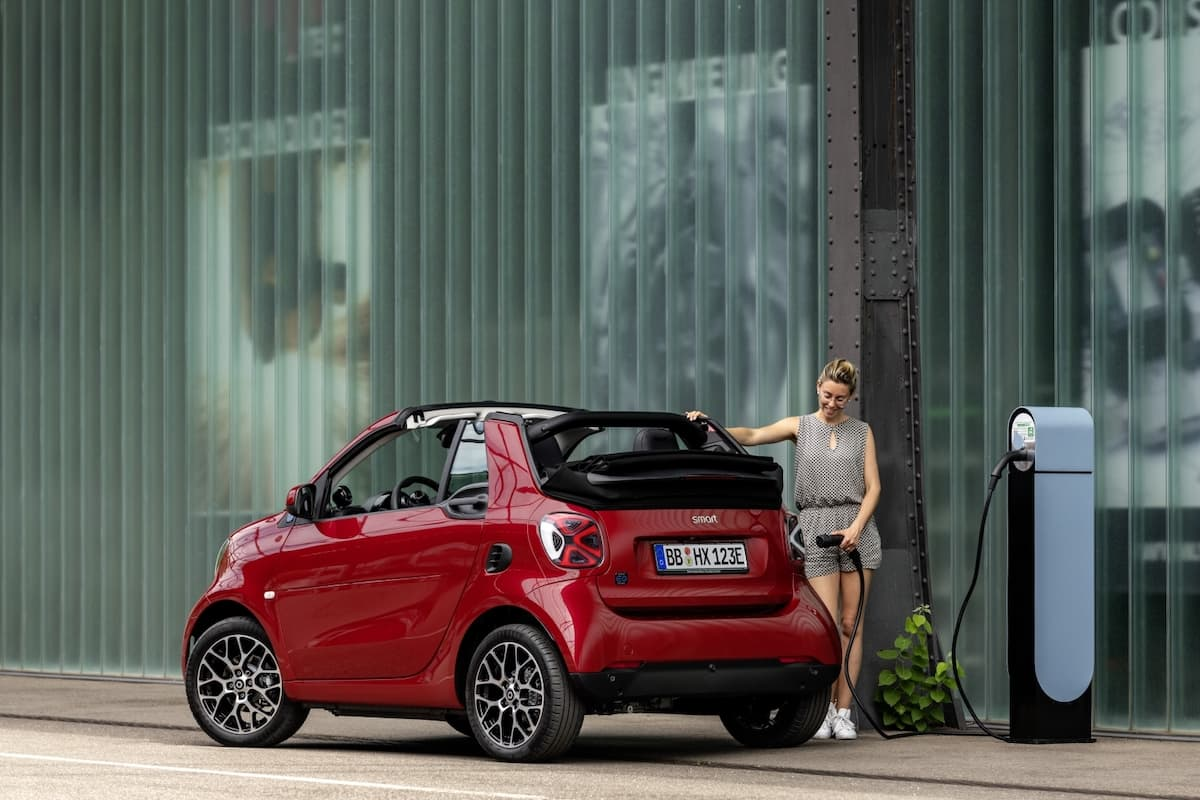 Smart EQ Fortwo (2020 onwards) – rear