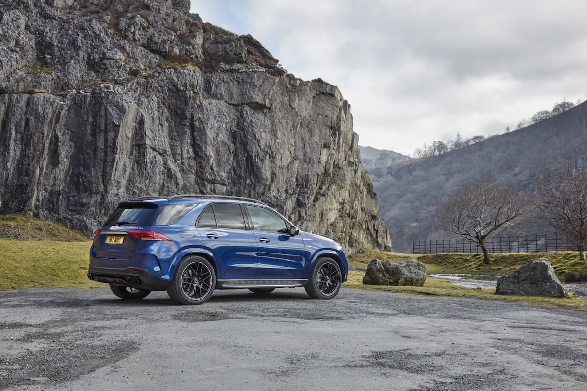 Mercedes-AMG GLE 53 review 2021 - rear