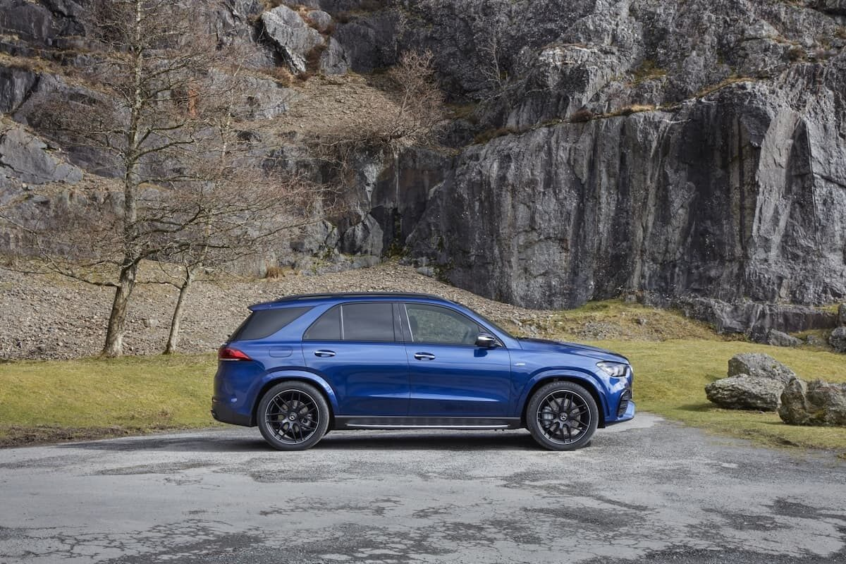 Mercedes-AMG GLE 53 review 2021 - side