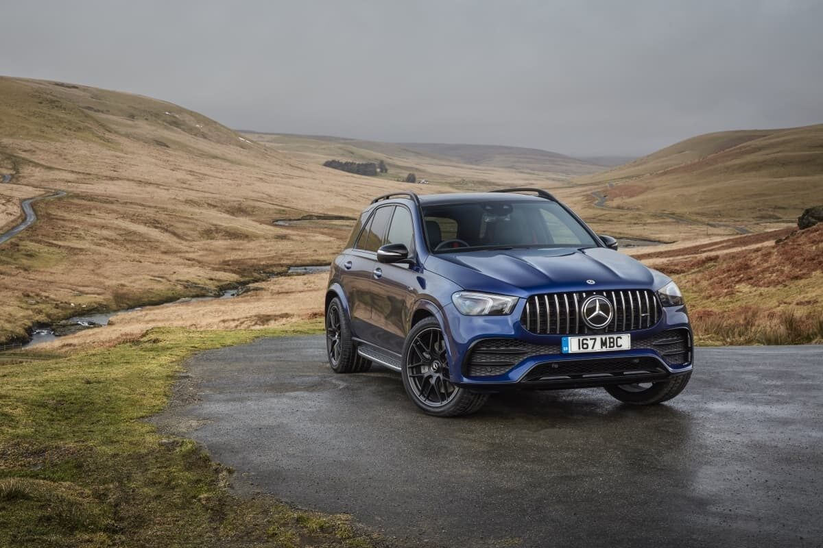 Mercedes-AMG GLE 53 review 2021 - front
