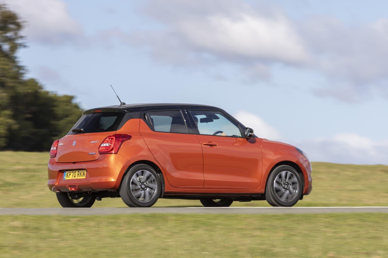 Suzuki Swift (2021 onwards) - rear view