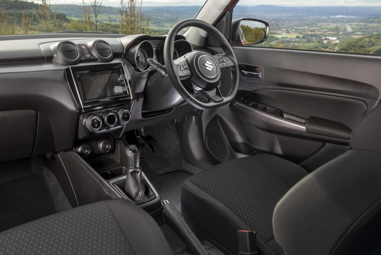Suzuki Swift (2021 onwards) - interior and dashboard
