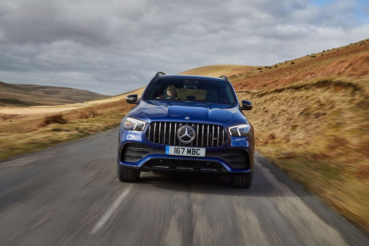 Mercedes-AMG GLE 53 road test 2021 - front