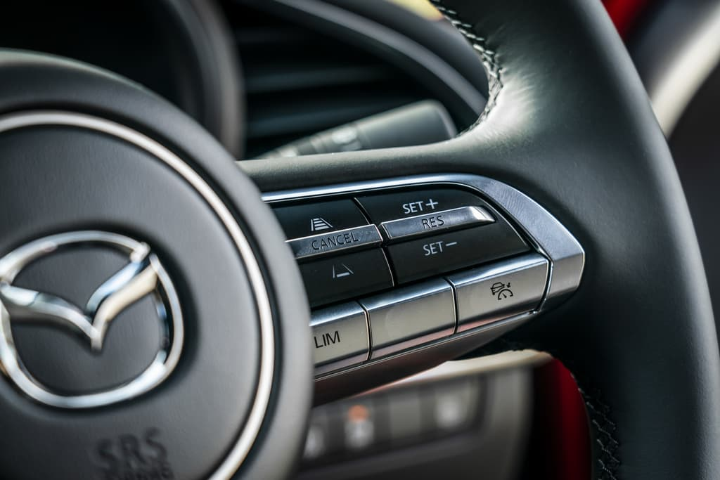 Adaptive cruise control buttons