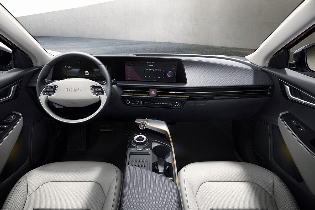 Kia EV6 (2021) interior