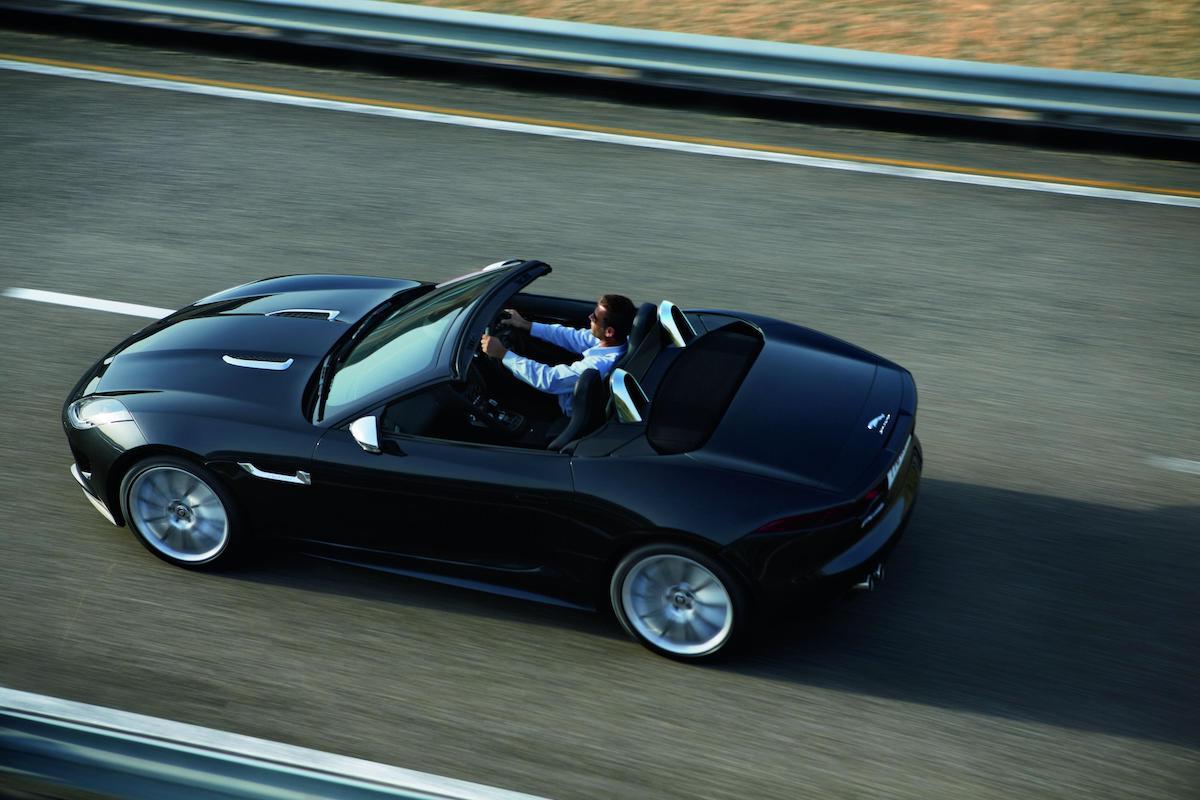 Jaguar F-Type roadster (2013 - 2019)