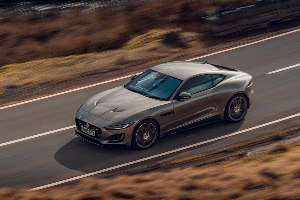 Jaguar F-Type coupé (2020 onwards)