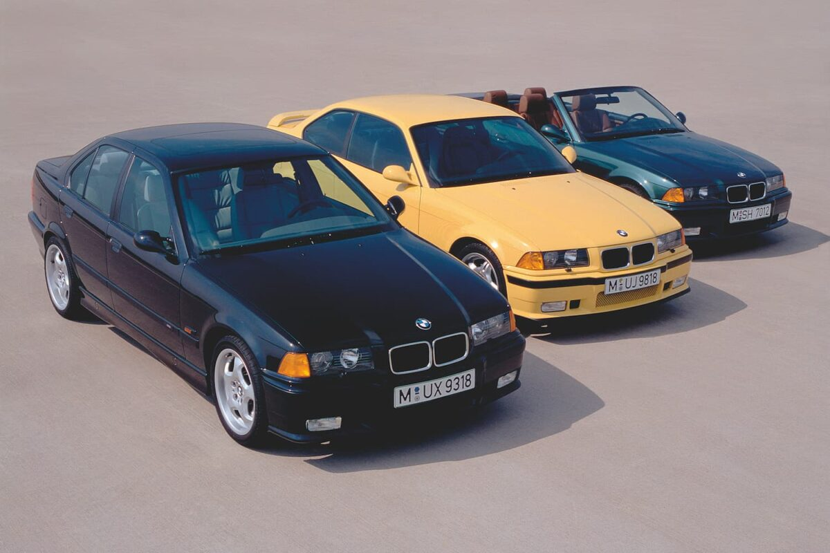 BMW M3 E36 range