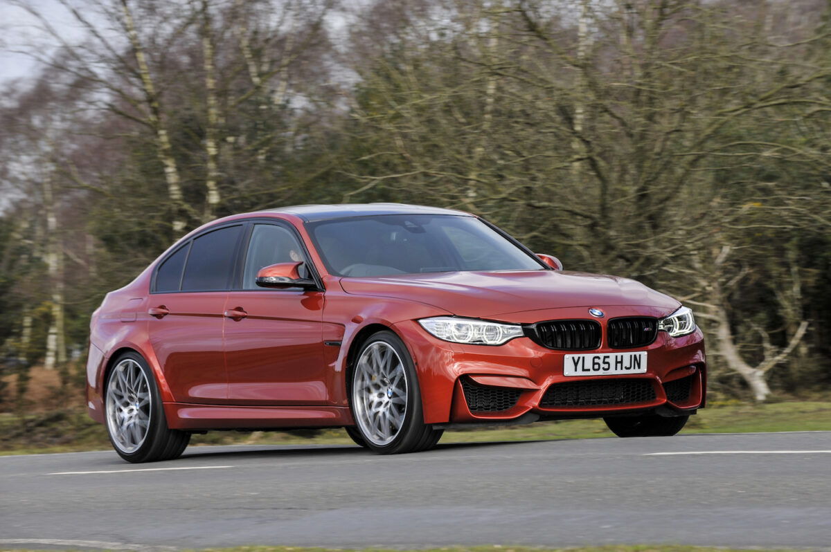 BMW M3 Competition F80 saloon
