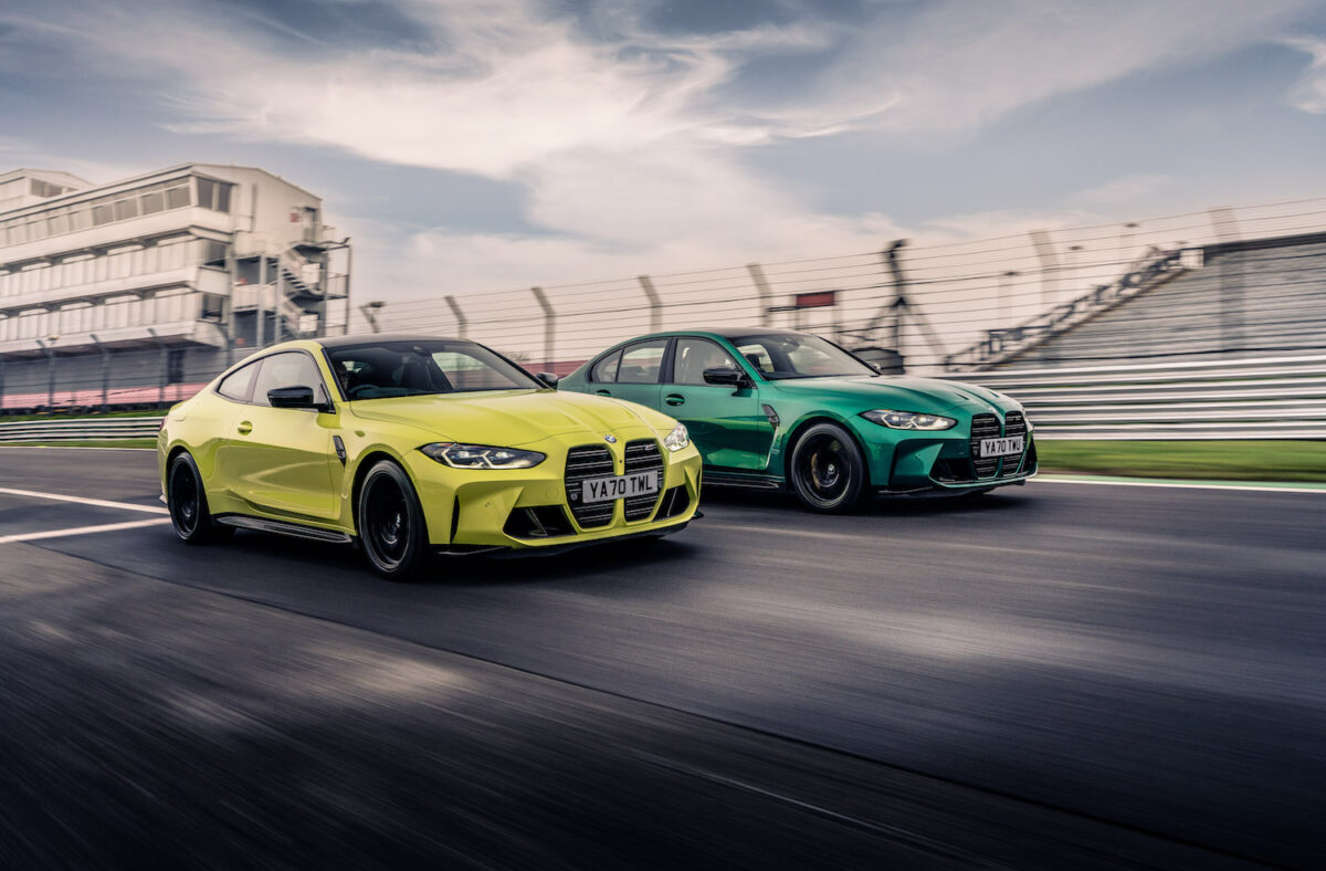 BMW M4 G82 coupé and M3 G80 saloon