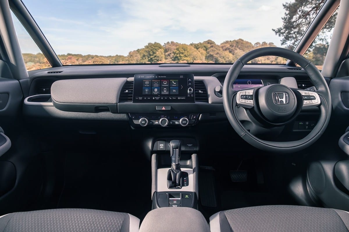 Honda Jazz Crosstar (2020 onwards) – dashboard