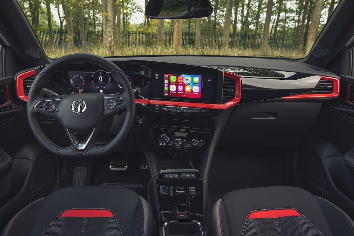 Vauxhall Mokka SRi (2021 onwards) – interior and dashboard