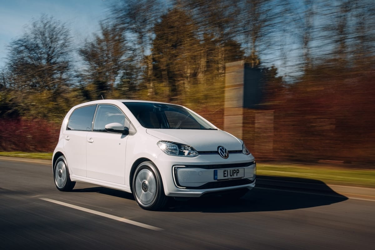 Volkswagen e-Up (2014 onwards) – front view