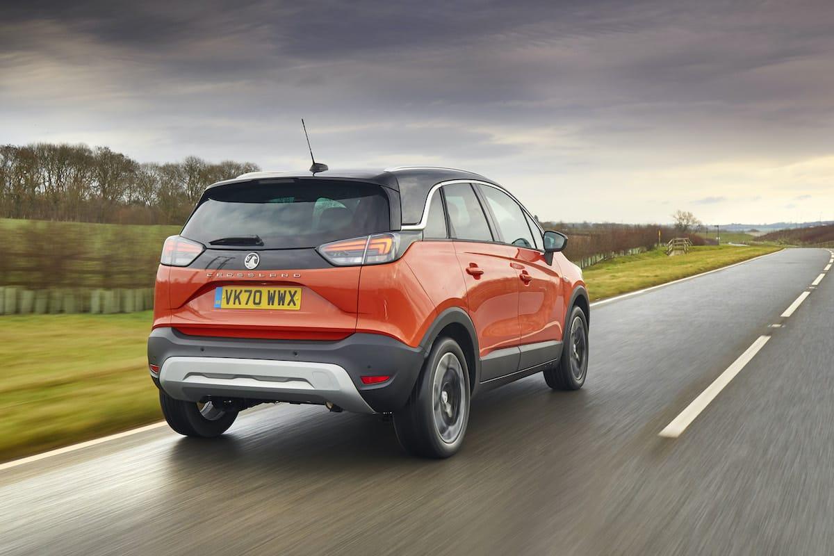 Vauxhall Crossland (2021 onwards) – rear view