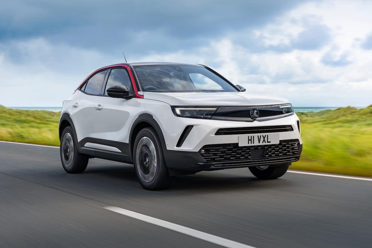Vauxhall Mokka SRi (2021 onwards) – front view