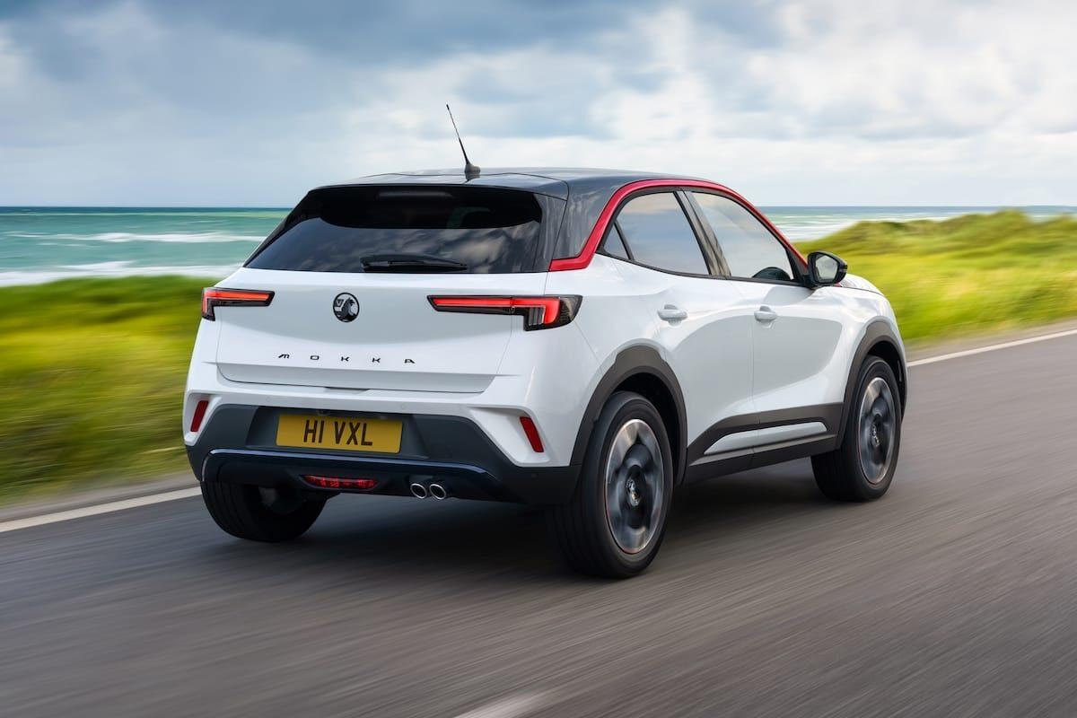 Vauxhall Mokka SRi (2021 onwards) – rear view