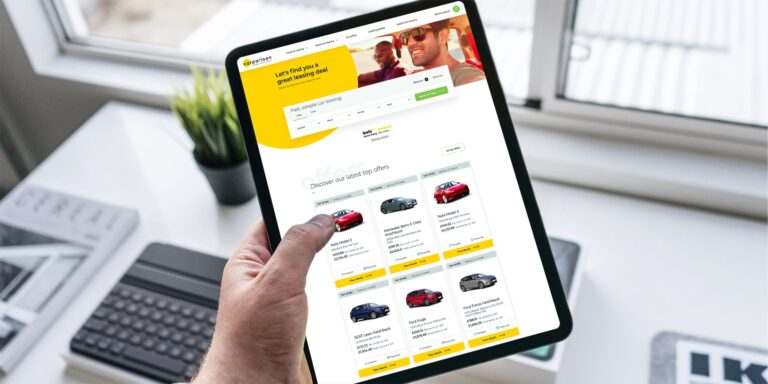 The best websites for leasing a new car