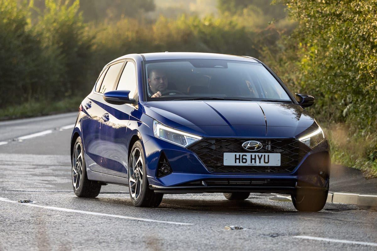 Hyundai i20 (2020 onwards) – front view