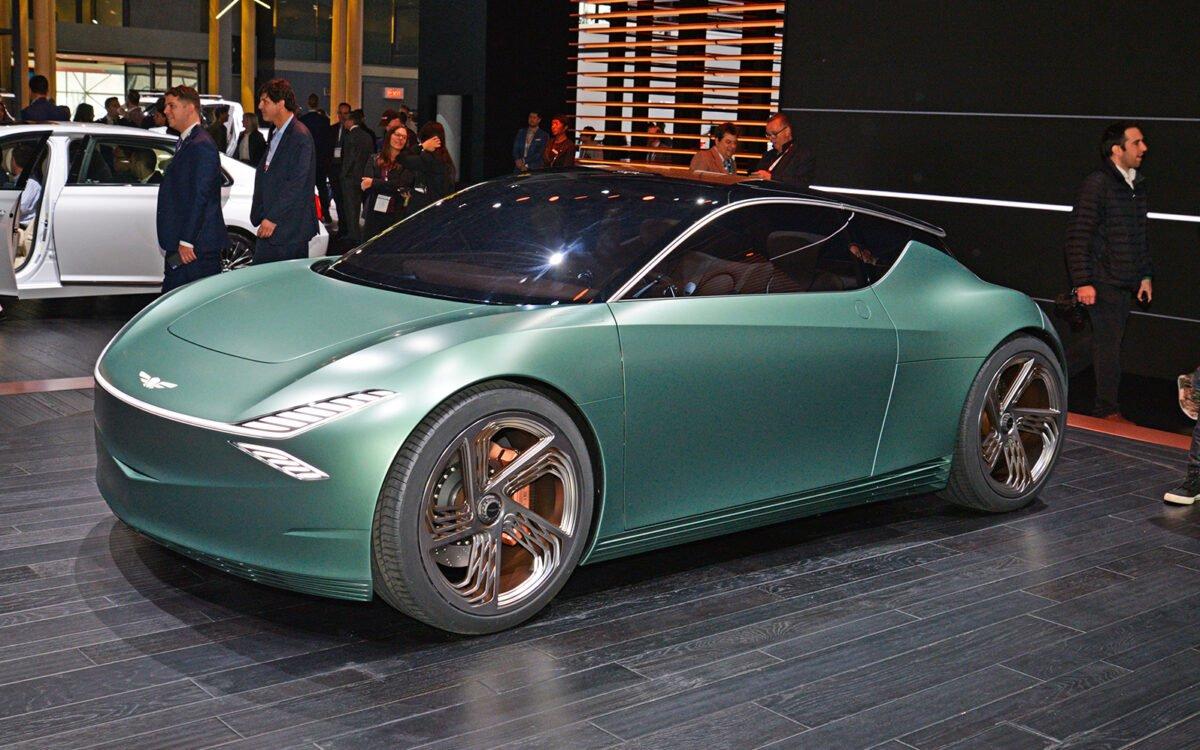 Genesis Mint concept side view