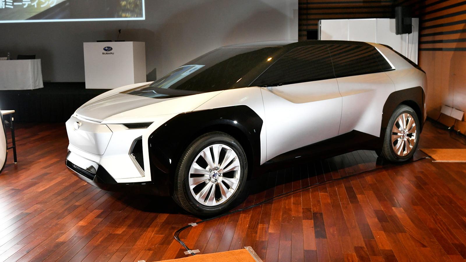Subaru EV Concept side