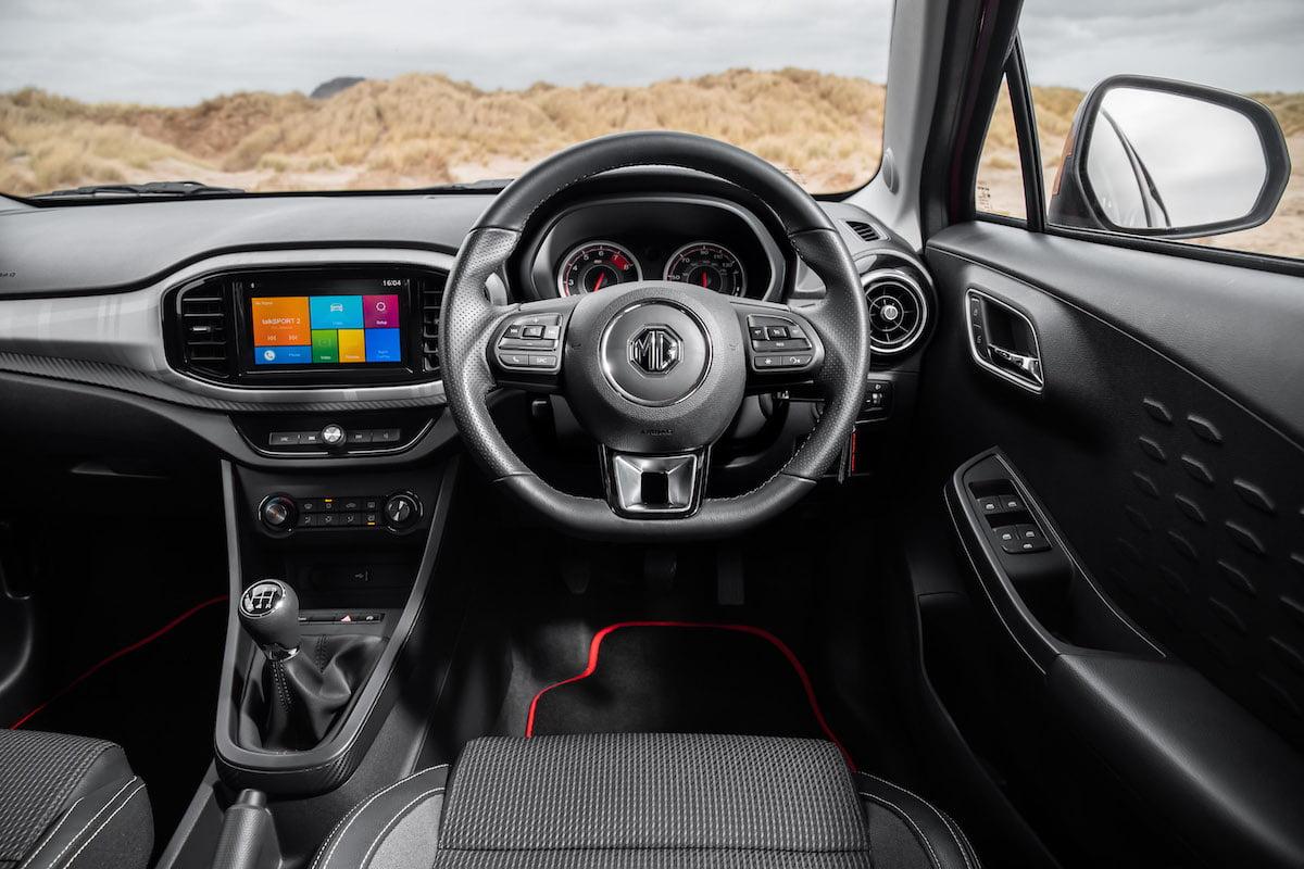 MG3 (2019 facelift) – dashboard
