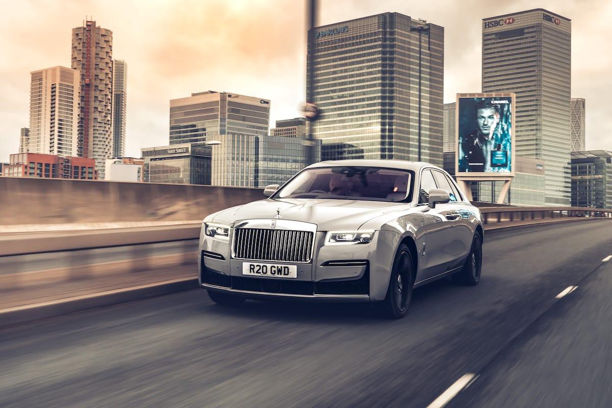 Rolls-Royce Ghost (2020 onwards) – Canary Wharf
