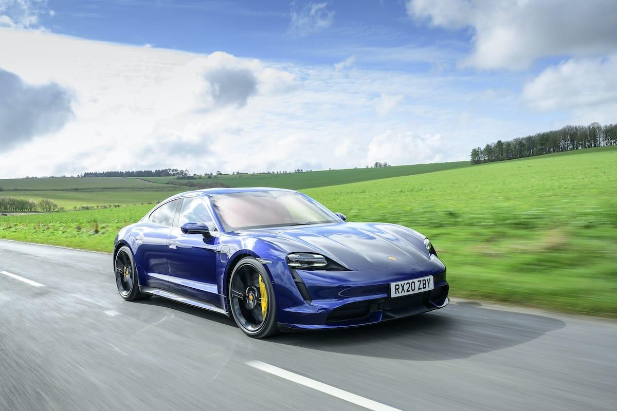 Porsche Taycan Turbo (2019 onwards) - front