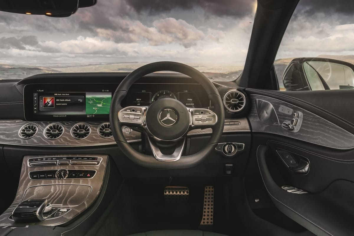 Mercedes-Benz CLS (2018 onwards) – dashboard