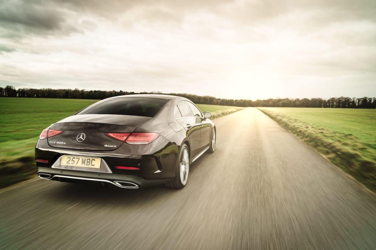 Mercedes-Benz CLS (2018 onwards) – rear