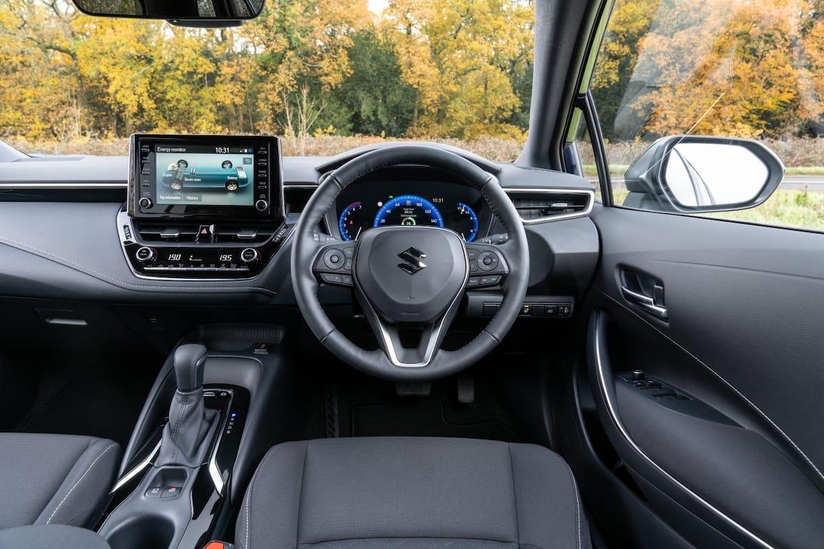 Suzuki Swace (2020 onwards) – interior and dashboard