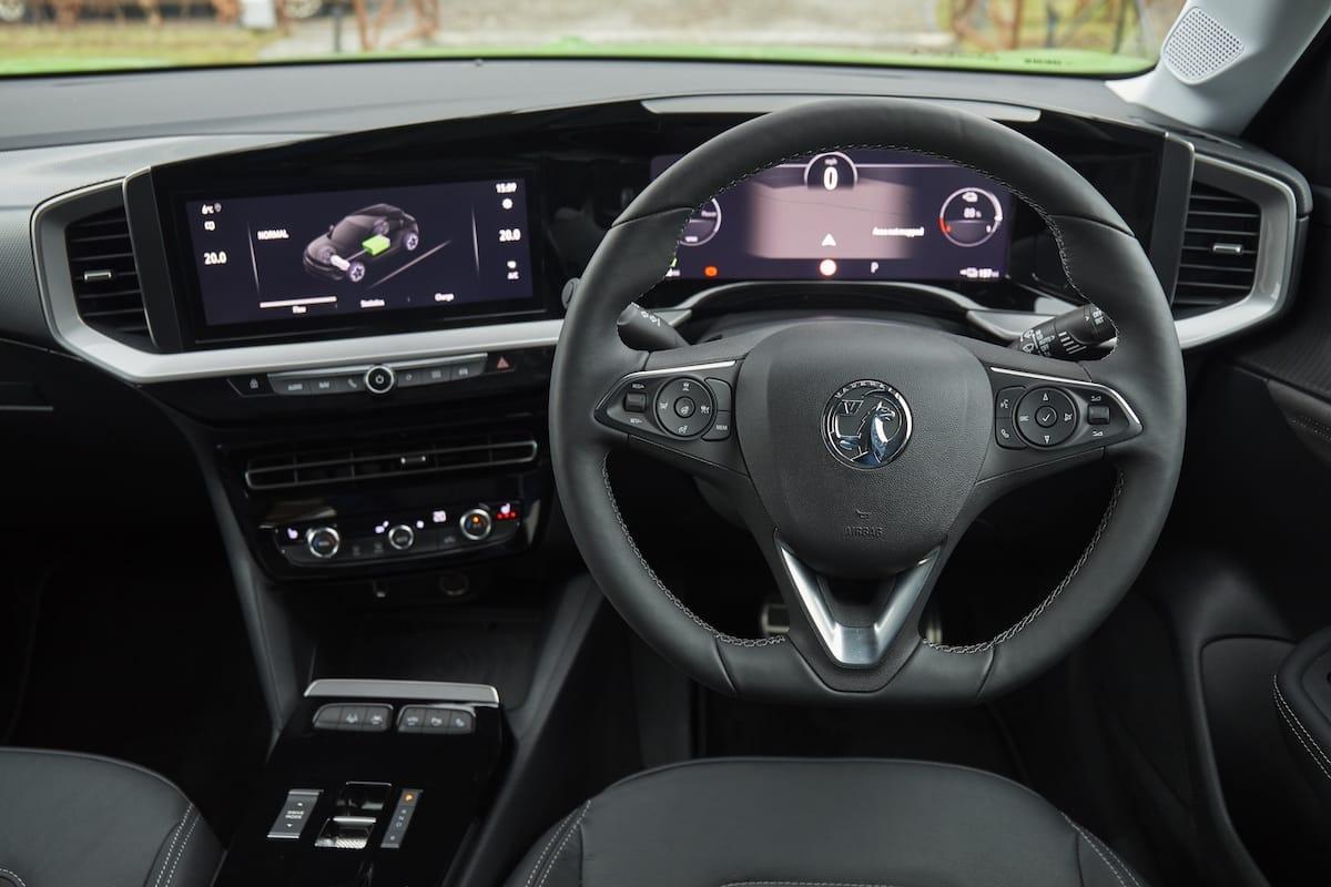 Vauxhall Mokka-e (2021 onwards) - interior and dashboard