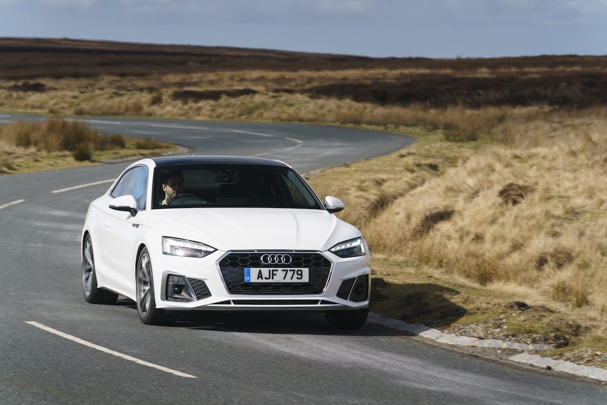 Audi A5 Coupé (2016 onwards) - front view