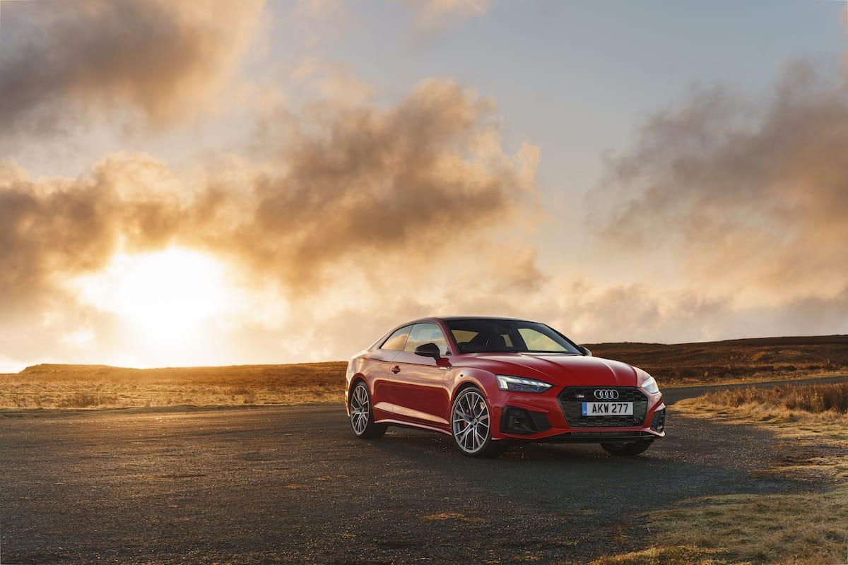 Audi S5 Coupé (2017 onwards) - front view