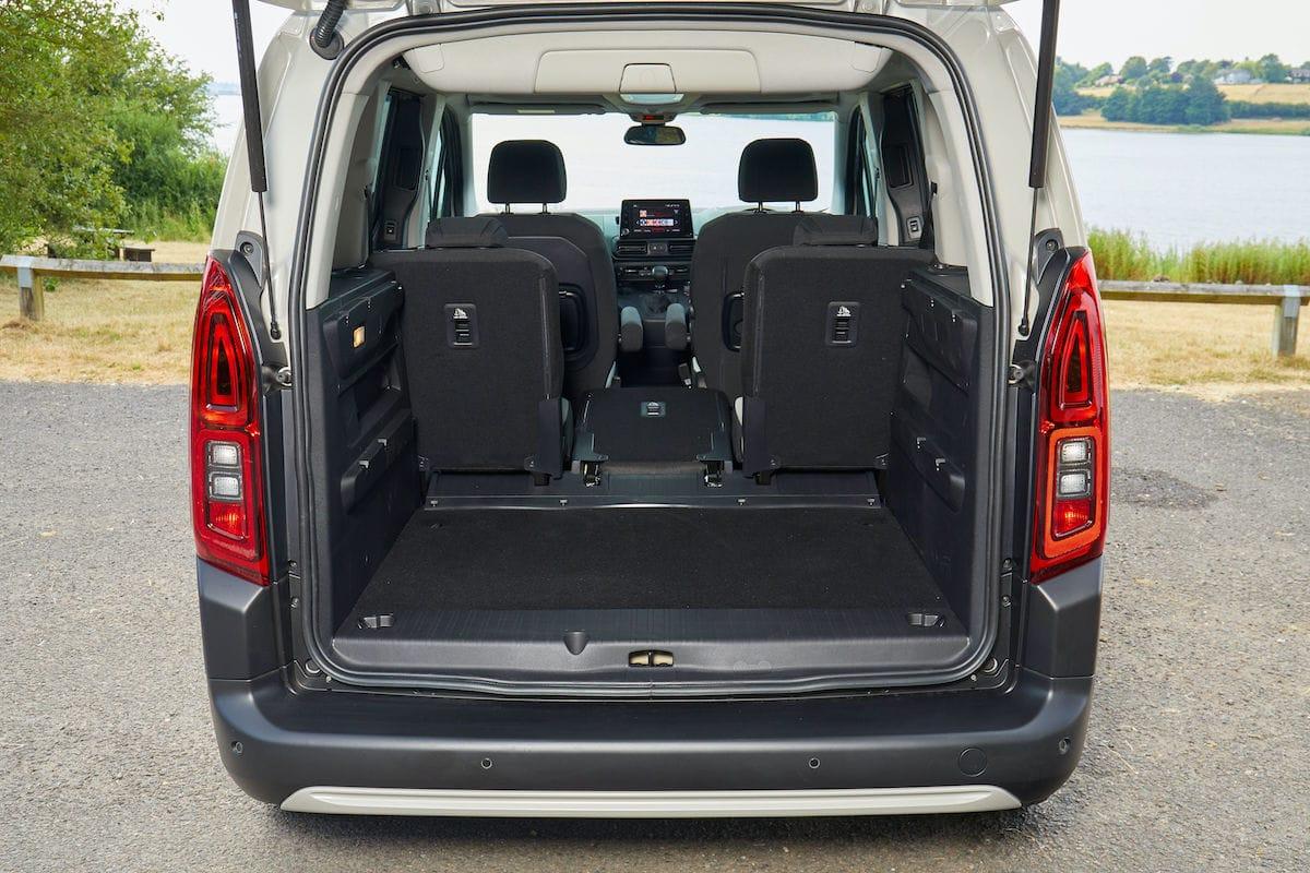 Citroën Berlingo (2018 onwards) – boot space