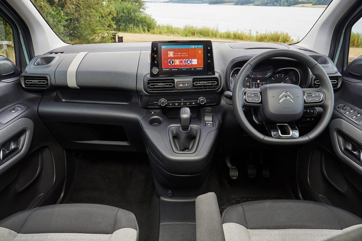 Citroën Berlingo (2018 onwards) – interior and dashboard