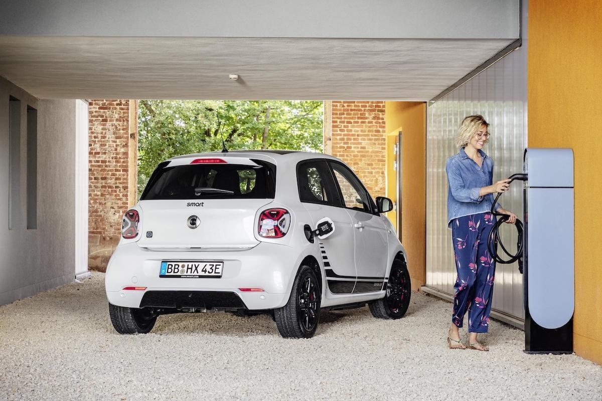 Smart EQ Forfour (2020 onwards) - rear
