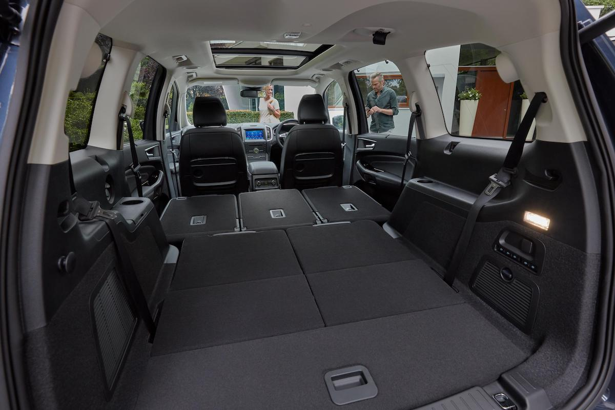 Ford Galaxy (2015 onwards) – load space
