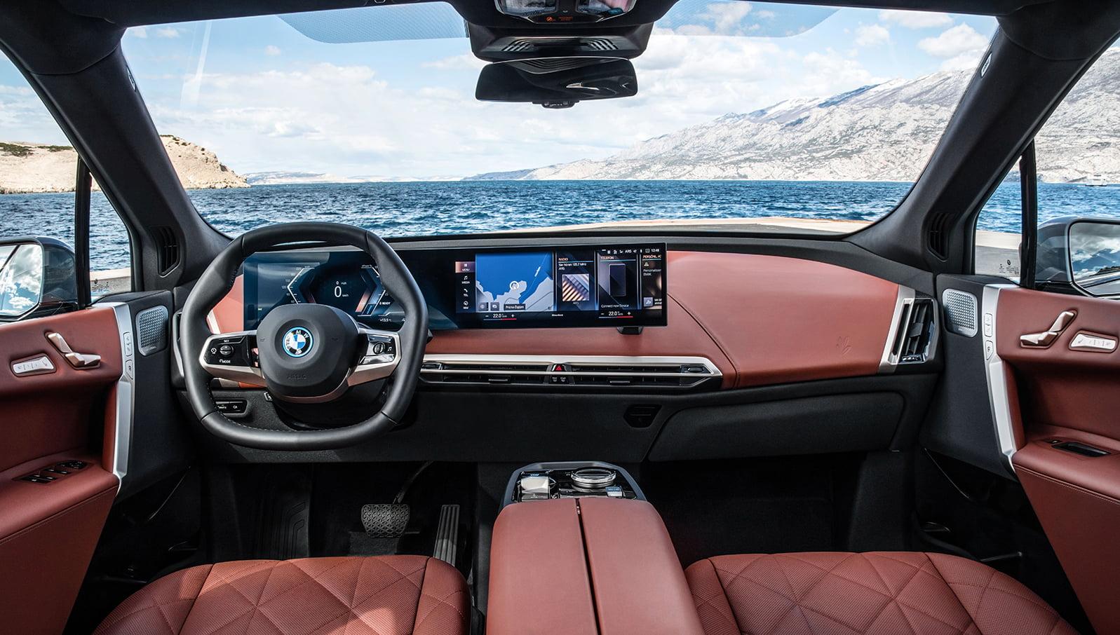 BMW iX interior I