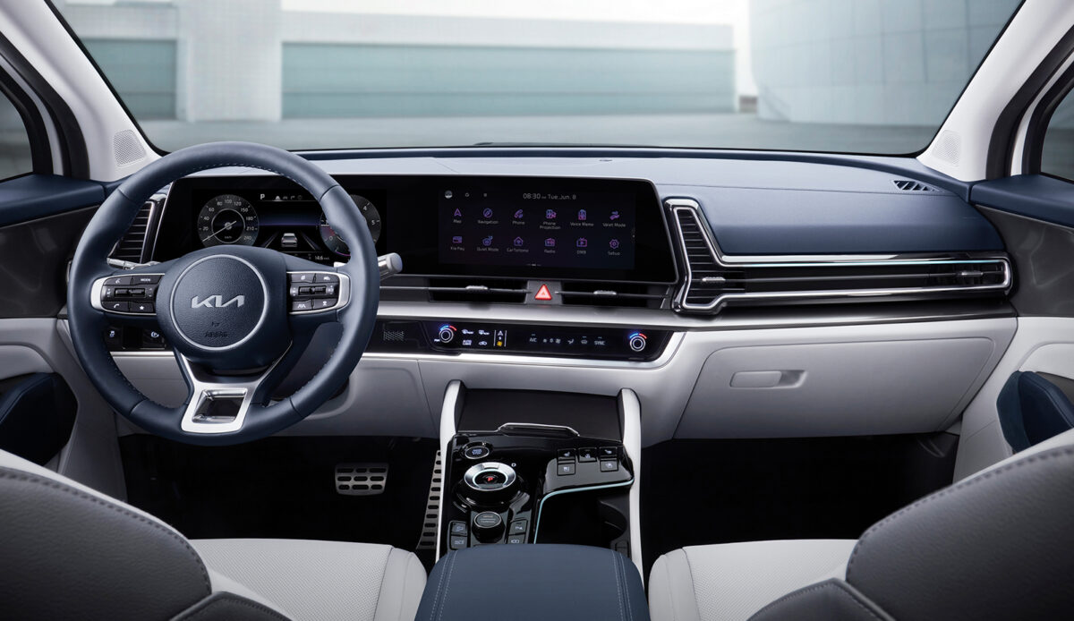 Kia Sportage 2021 interior