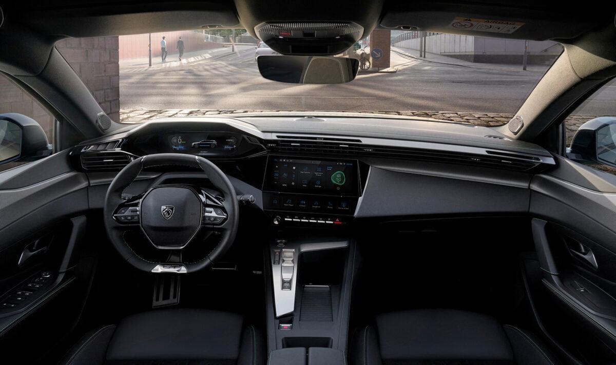 Peugeot 308SW interior