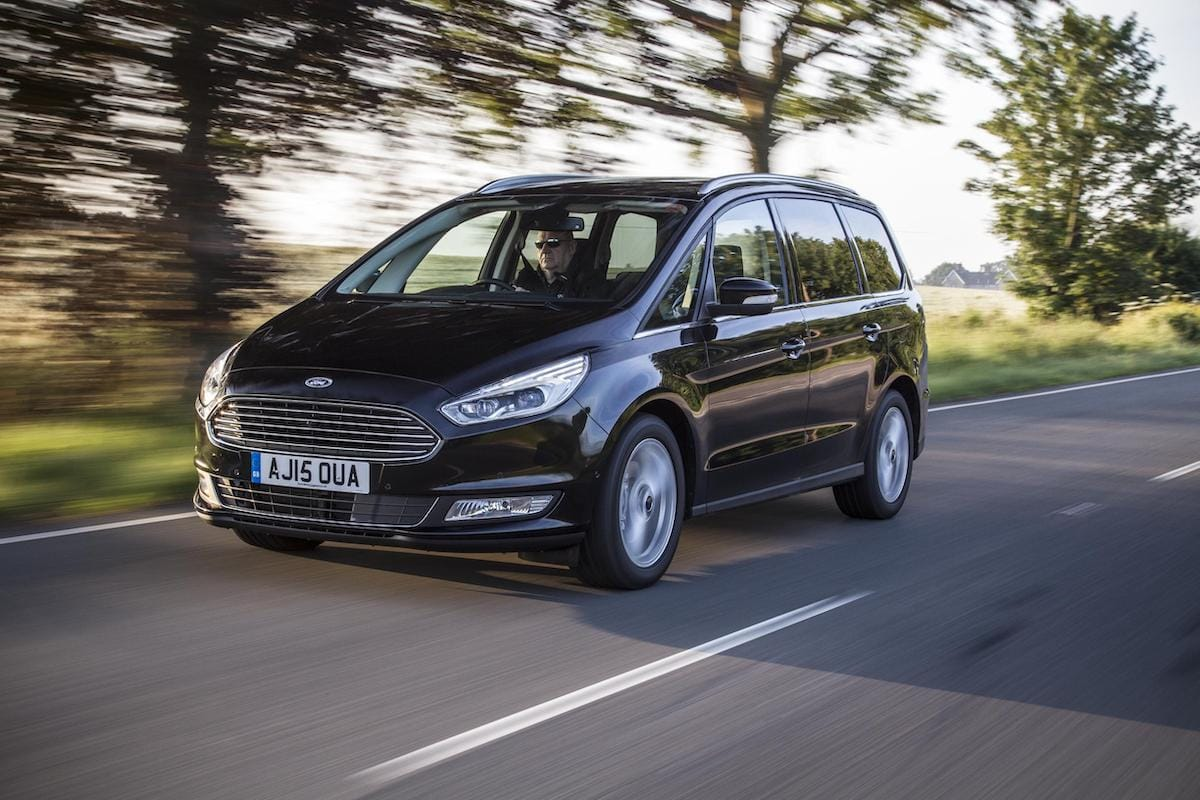 Ford Galaxy (2015 onwards) – front view