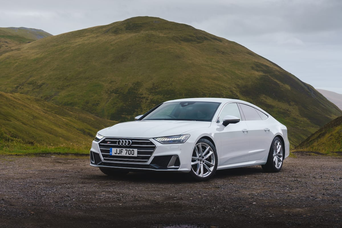 Audi S7 Sportback (2018 onwards) – front view
