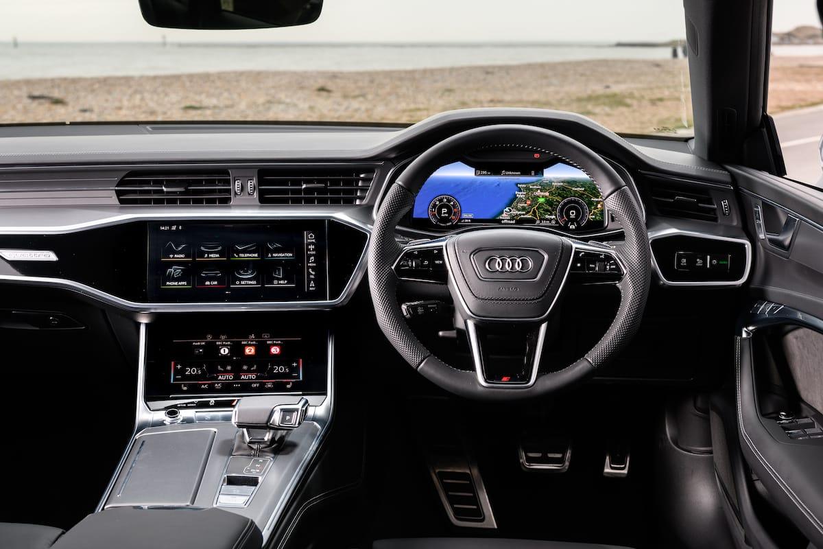 Audi S7 Sportback (2018 onwards) – interior and dashboard