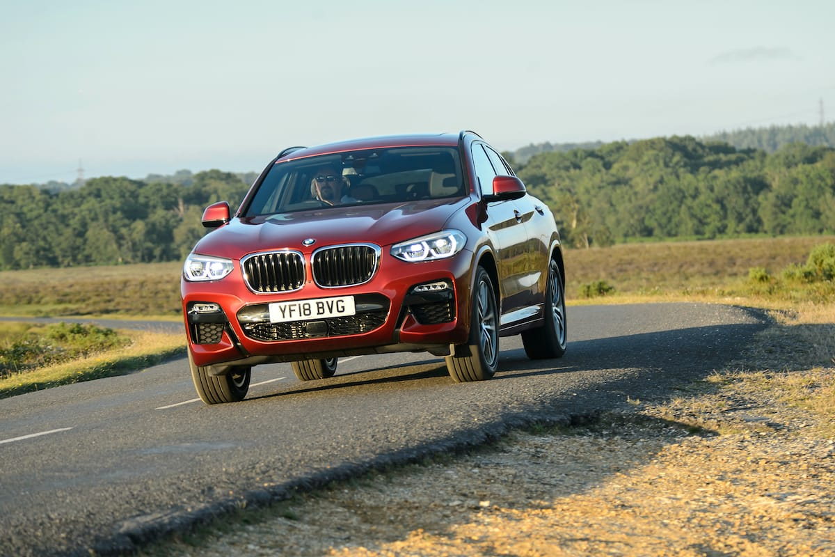 BMW X4 (2018 onwards) - front view