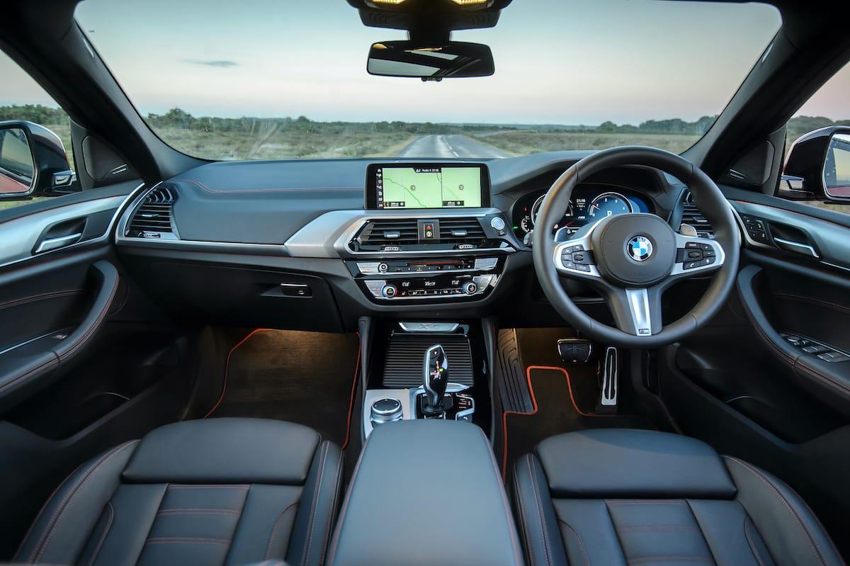 BMW X4 (2018 onwards) - interior and dashboard
