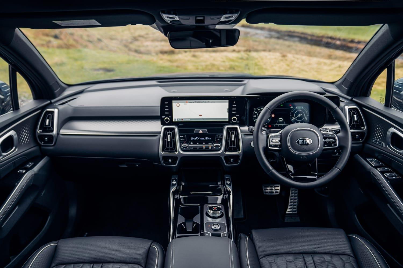 Kia Sorento (2020 onwards) - interior and dashboard