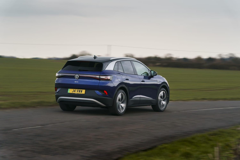 Volkswagen ID.4 (2021 onwards) – rear view