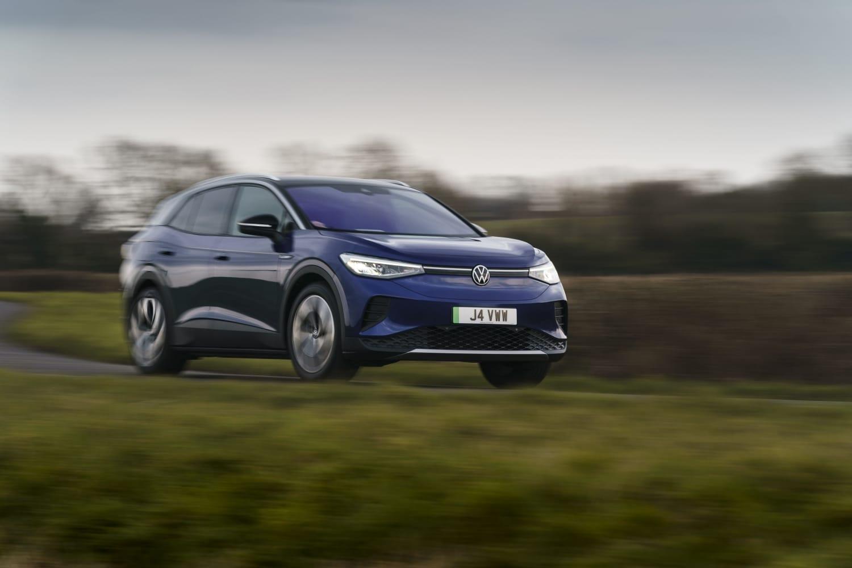 Volkswagen ID.4 (2021 onwards) – front view