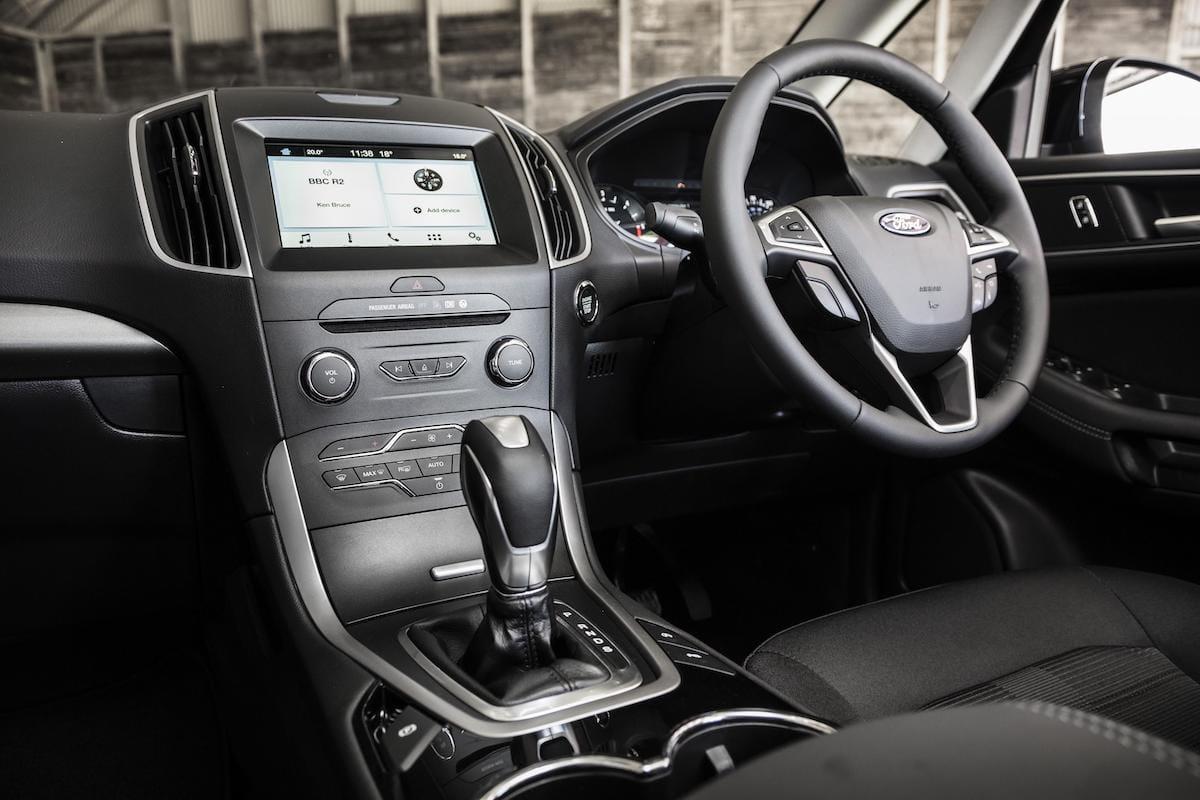 Ford Galaxy (2015 onwards) – dashboard